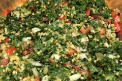 Couscous and kale salad