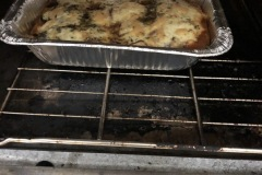 frittata is roasting
