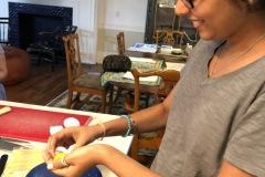 separating eggs for tiramisu