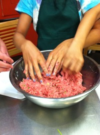 teenagers cooking classes